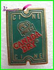 Pin's Boisson CANADA DRY Ticket Cinema Ciné  #H1