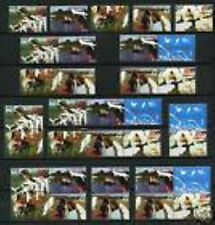 Nederland alle combinaties  uit  postzegelboekje 64  postfris/MNH