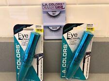 L.A. Colors (2) Eye Tensity Intense Black Mascara & Free Eyelash