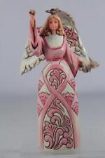 Jim Shore 'Breast Cancer Awareness Angel Hanging-Ornament Rose #4044521 NIB