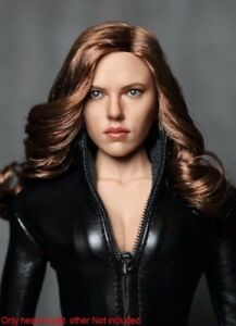 Scarlett Johansson 1/6 Black Widow 5.0 Head Sculpt Fit 12'' Phicen Body Hot Toys