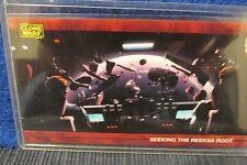2009 Star Wars Clone Wars Widevision #63 Silver Foil stamped 123/500