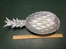 Vintage Wilton Armetale Cast Aluminum Pineapple Serving Dish by Bruce Cox
