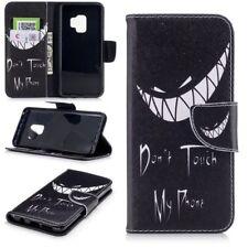 Cartera de bolsillo carcasa libro Diseño 25 para Samsung Galaxy S9 Plus G965f
