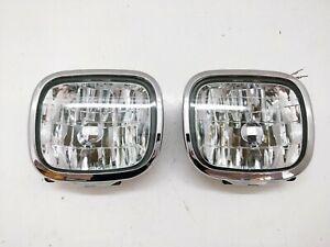 Subaru JDM Forester SF5 SF9 OEM Front Bumper Fog Chrome Trim Light Lamp WRx STi