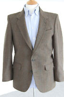 """GENTS VINTAGE WOOL TAILORED SUIT  BY DUNN & CO - 38"""" R"""