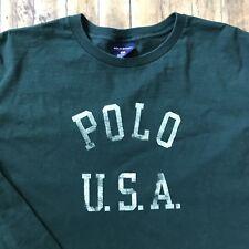 Vtg Polo Sport by Ralph Lauren Longsleeve T-Shirt 1990s - Size XL, Made in USA