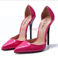 Sexy Womens Fashion Wedding Pointy Toe High Heels Ladies Dress New Shoes UK Size