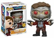 FUNKO POP! MARVEL - GUARDIANS OF THE GALAXY 2 - #198 STAR-LORD CHASE EXCLUSIVE