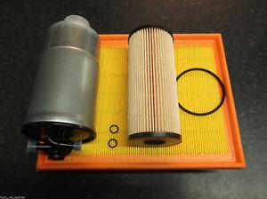 AUDI A4 1.9TDI B6 SERVICE KIT OIL FUEL AIR FILTERS- AVF AWX AVB