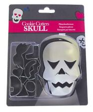 Halloween Skull Decorating Cookie Cutter Set