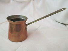 Vintage Portugal Tagus Copper long handle Dipper with Side Spout