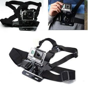 UK Shoulder Chest Strap Harness Mount For GoPro Hero 1 2 3 3+ 4 Session Camera