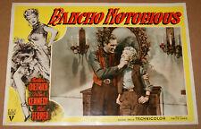 fotobusta film RANCHO NOTORIUS Marlene Dietrich Mel Ferrer Fritz Lang 1952