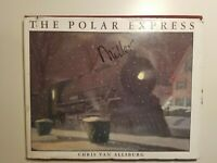 The Polar Express by Chris Van Allsburg 1985 hcdj FIRST EDITION 1st Collectible