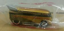RARE Sealed HOT WHEELS  VOLKSWAGEN VW DRAG BUS HOTWHEELS.COM IN GOLD