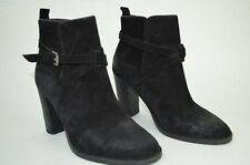 N.D.C. Made by Hand Paulita Softy Distressed Suede Ankle Boots Sz. US 8.5 EUR 39