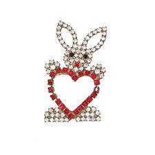 Crystal Animals Vintage Costume Jewellery (1980s)