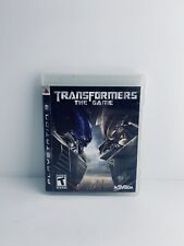 Transformers: The Game (Sony PlayStation 3 PS3, 2007) video game