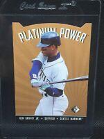 1995 Ken Griffey Jr SP Platinum Power DIE CUT #PP12 HOF MINT