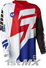Shift Mx facción Off Road Motocross Carreras Jersey Blanco Rojo Adultos XXL venta