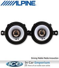 """Alpine SXE-0825s car speakers 3.5"""" 87mm 2 Way Coaxial Speaker kit 150W"""