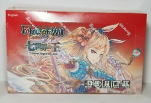 Force of Will The Seven Kings of the Lands Sealed Booster Box