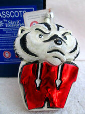 Slavic Treasures.Wisconsin University.Badgers.Orname nt/ Figure.Nib