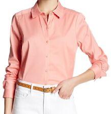 NWT $108 NYDJ XL P Shirt  W/Detachable Shapewear CROSS DYE WOVEN 2 pc Blouse/Top