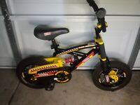 "TONKA Mighty Bike MX Racer 120 Dual Shock System Model No. OV 41250 12.5"" Tires"