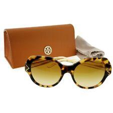97a9011fcb3d Tory Burch TY7116-17182L-53 Women's Tortoise Frame Brown Lens Genuine  Sunglasses