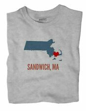 Sandwich Massachusetts MA T-Shirt HEART