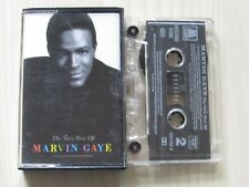 MARVIN GAYE THE VERY BEST OF CASSETTE, 1994 MOTOWN RECORDS, TESTED.