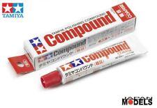 Tamiya Polishing COMPOUND COARSE - Pasta Abrasiva 87068 Tamiya 22ml Nuovo New