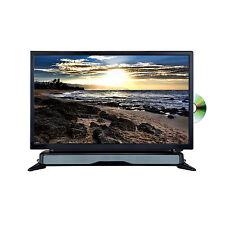 "Axess 24""  Widescreen HDTV LED Television DVD Combo W SoundBar HDMI USB/SD AC/DC"