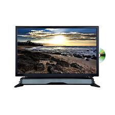 Axess 24 Widescreen HD LED TV DVD Combo W SoundBar AC/DC Power