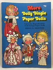 1979 Reproduction Dolly Dingle Paper Dolls 30 Dolls 50 Outfits Toys 3050F
