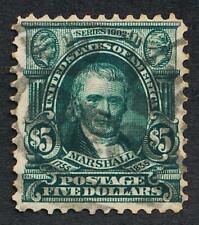 UNITED STATES (US) 313 USED F-VF $5 MARSHALL