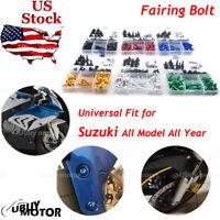 For Suzuki GSX-R 600 / 750 K11 2014-2017 Complete Fairing Bolt Kit Screws M5 M6