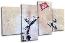 No Ball Games Banksy Street MULTI LONA pared arte Foto impresion