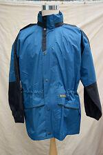 mens Stunning REGATTA hooded jacket coat PVC coated nylon taped size L, C 42''