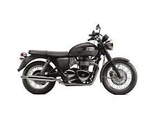 TRIUMPH BONNEVILLE NERO T100 1:18 model-black