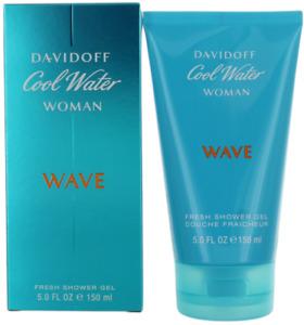 Cool Water Woman Wave By Davidoff For Women Shower Gel 5oz New