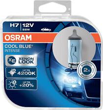 2X H7 12V 55W PX26d Osram Cool Blue INTENSE 2er Pack Autolampe Halogen Duo-Box