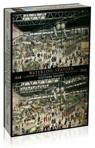Gibsons 1000 Piece Waterloo Station 1848-1948 Jigsaw Puzzle