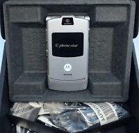 MOTOROLA RAZR V3 KLAPP-HANDY MOBILE PHONE UNLOCKED QUAD-BAND KAMERA WAP + FEHLER