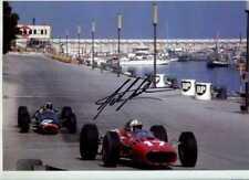 John Surtees Ferrari 312/66 Monaco Grand Prix 1966 Signed Photograph 4