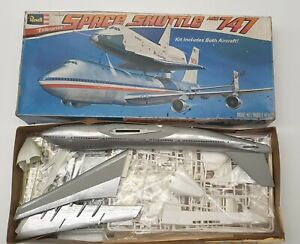 1/144 Revell Space Shuttle and Boeing 747 with Issues