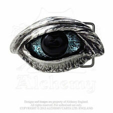 NEW Alchemy Gothic THE VULTURE'S EYE 3D BELT BUCKLE inc. Sign Del. B83