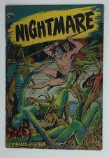 NIGHTMARE 13 * St. John * 1953 * Nice 4.0ish book * Pre Code Horror
